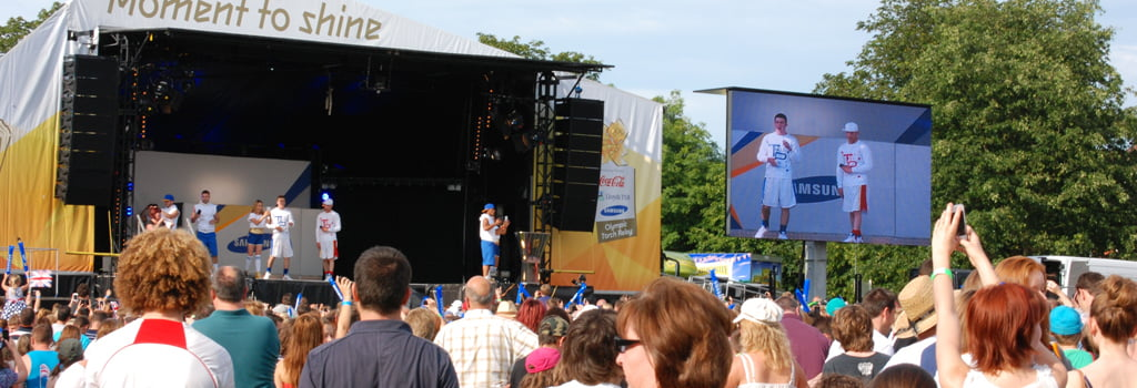 Stage Security at the Olympic Torch Relay